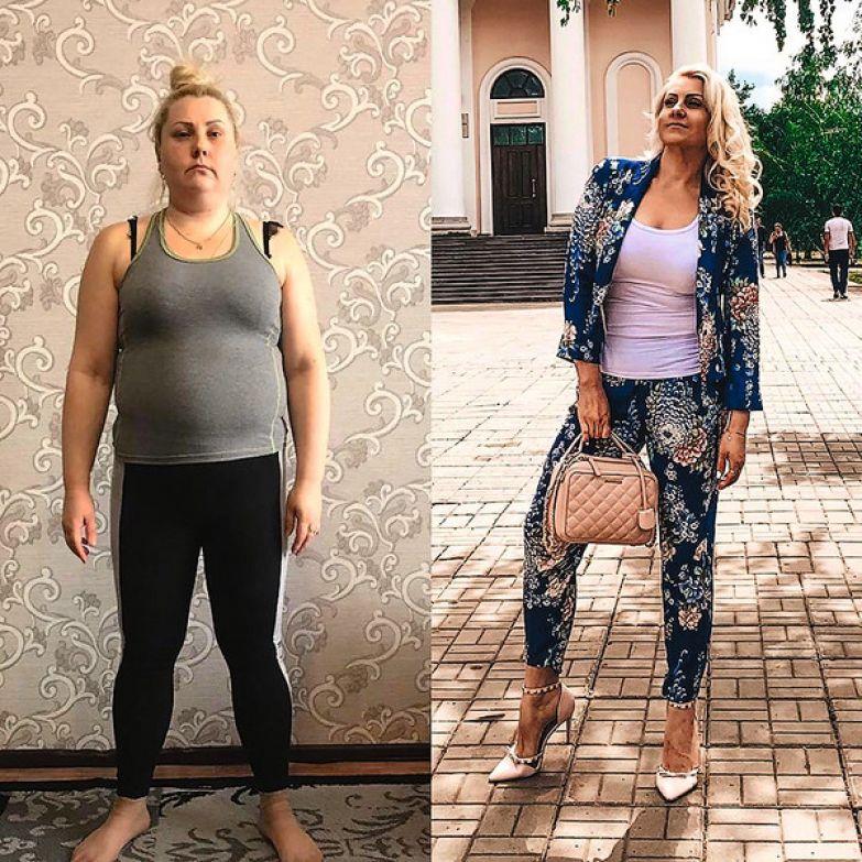 Февраль 2018 года, вес — 94 кг, и сейчас