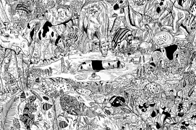 Рисунки животных от Dusan Krtolica