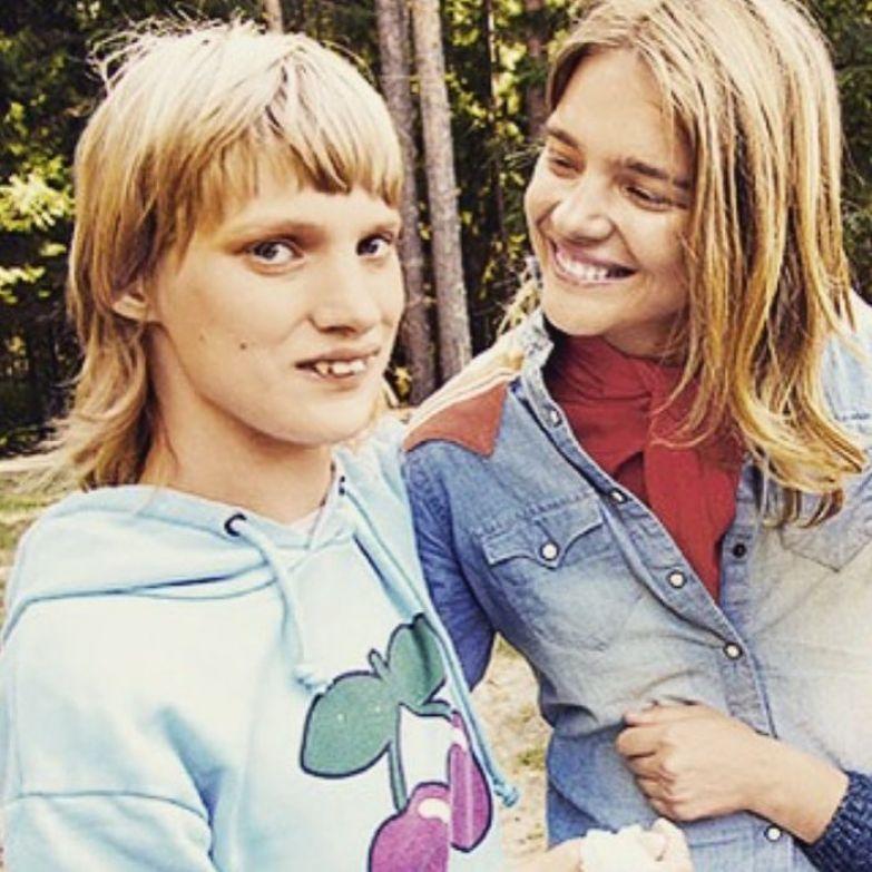 Наталья с сестрой Оксаной
