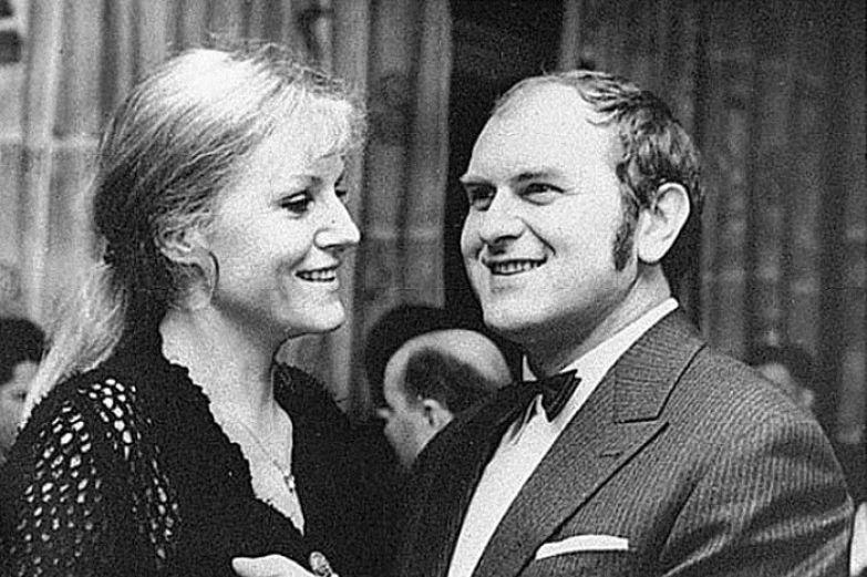 Анна Герман и ее супруг Збигнев Тухольский.
