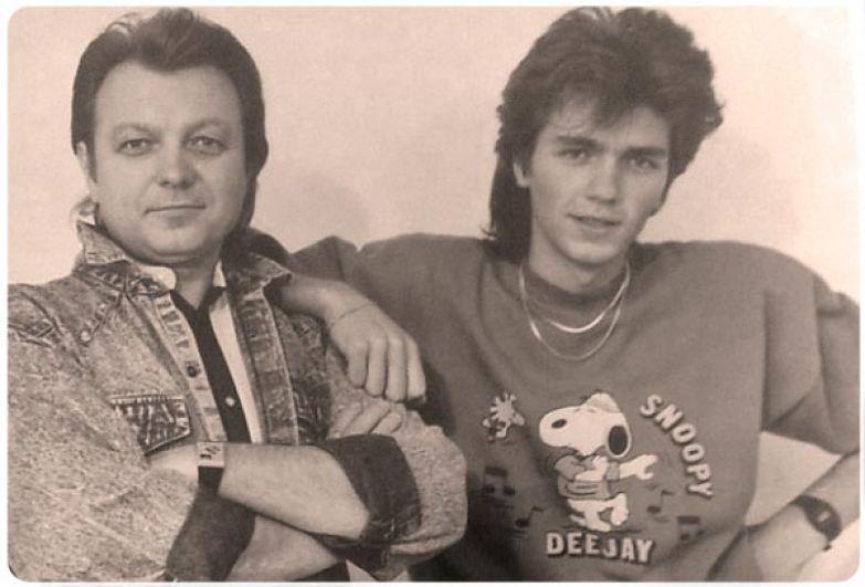 Дмитрий Маликов с отцом. / Фото: www.zvezdastok.ru