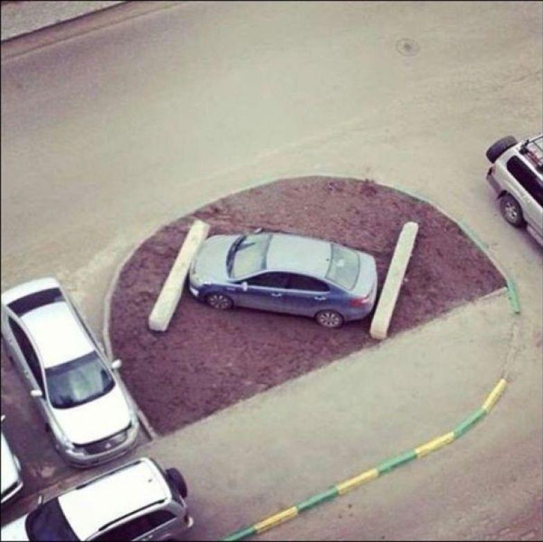 Что бывает за хамскую парковку авто, парковка, прикол, факты, юмор