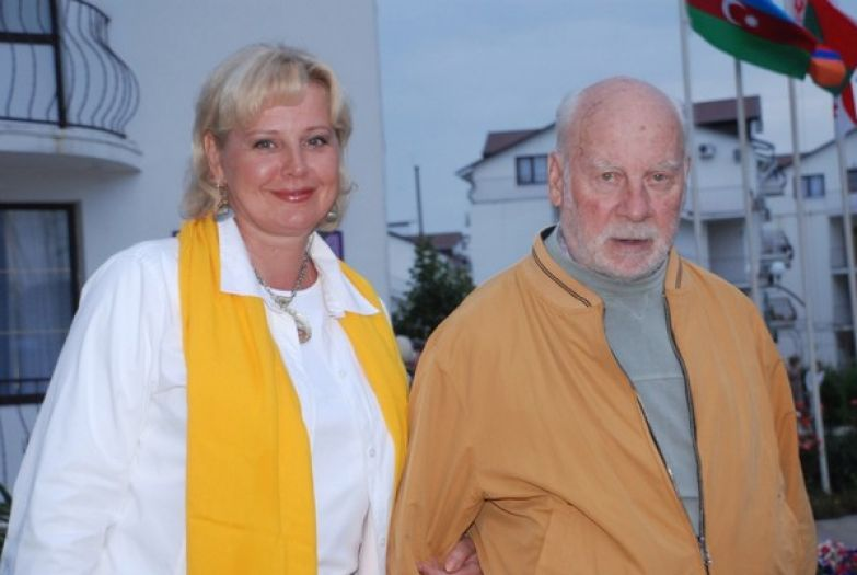 Евгений Ташков со второй супругой Татьяной