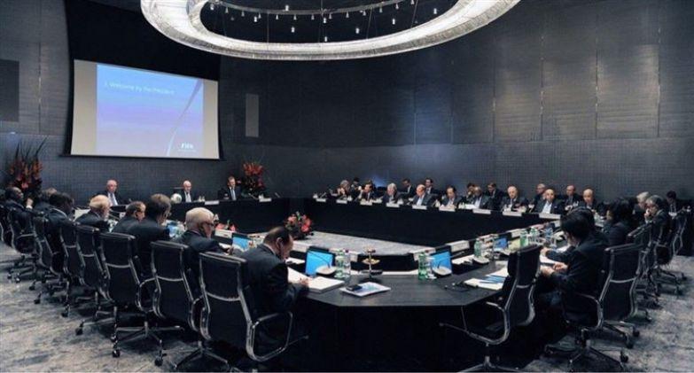 15. Зал совещаний FIFA люди, мир, фотоподборка