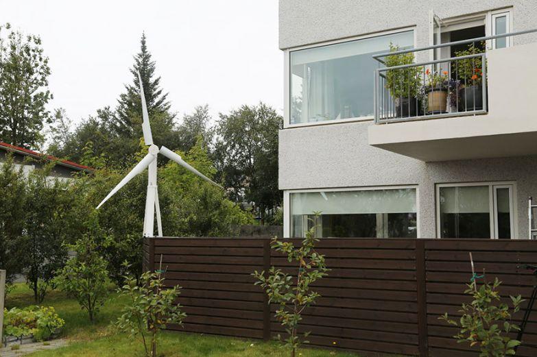 Портативная ветроустановка может даже питать электричеством дом.