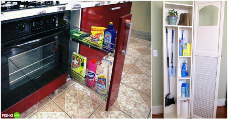 Еще хорошо бы было на эти шкафчики специальные замочки от непоседливых детей повесить! вещи, идеи, квартира, маскировка, полезное, решение