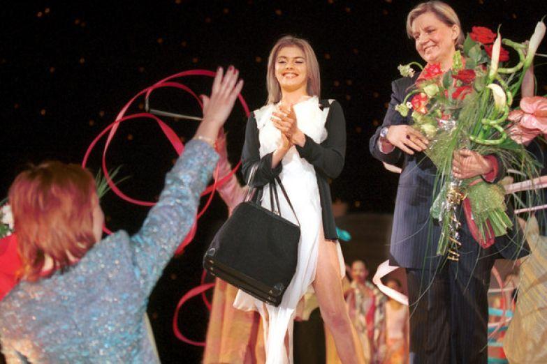 Алина Кабаева часто участвовала в модельных показах