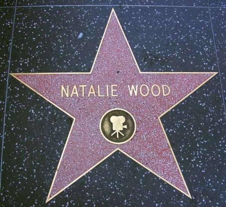Звезда Натали Вуд на голливудской *Аллее славы* | Фото: liveinternet.ru