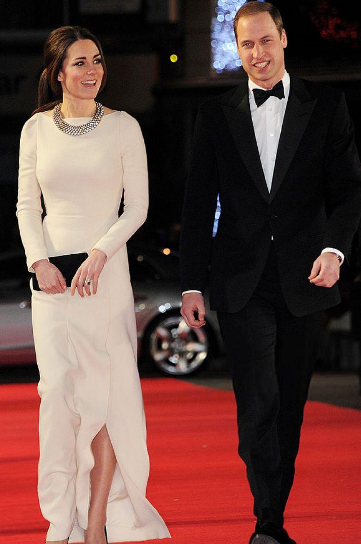 Кейт Миддлтон и принц Уильям, 2013