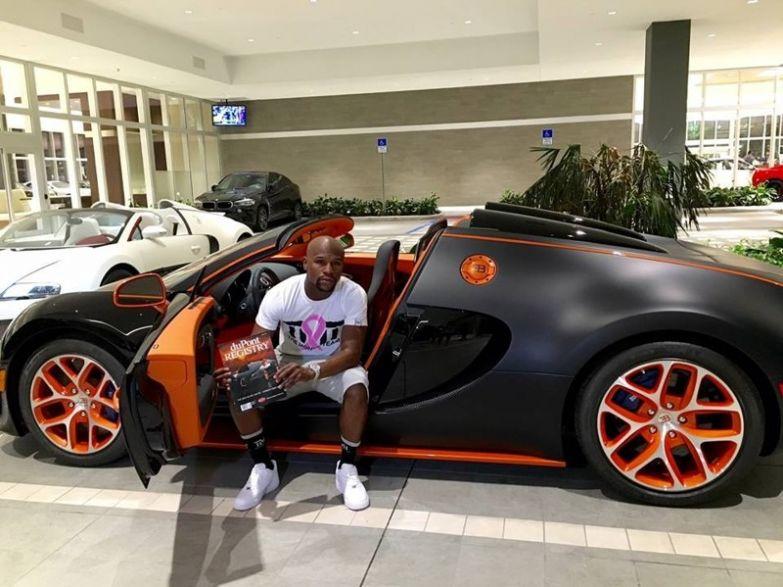 5. 3,5 млн долларов за Bugatti Veyron миллионер, покупки, роскошь, спортсмен