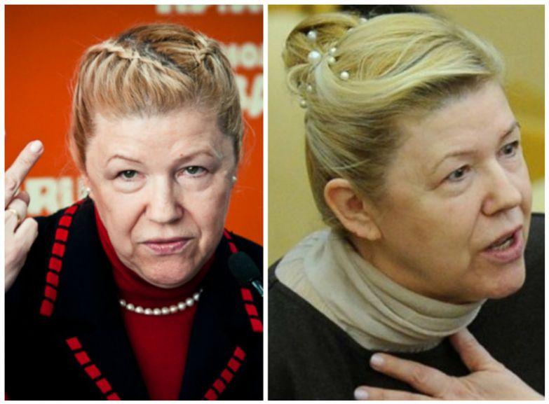 Елена Борисовна Мизулина – парламентарий, получивший известность в последние годы благодаря ряду громких и неоднозначных законодательных инициатив. Мадам молодится, создавая себе прически школьниц с косичками и булавочками. А ей ведь уже 62... политики, прически, смешно, удивительно