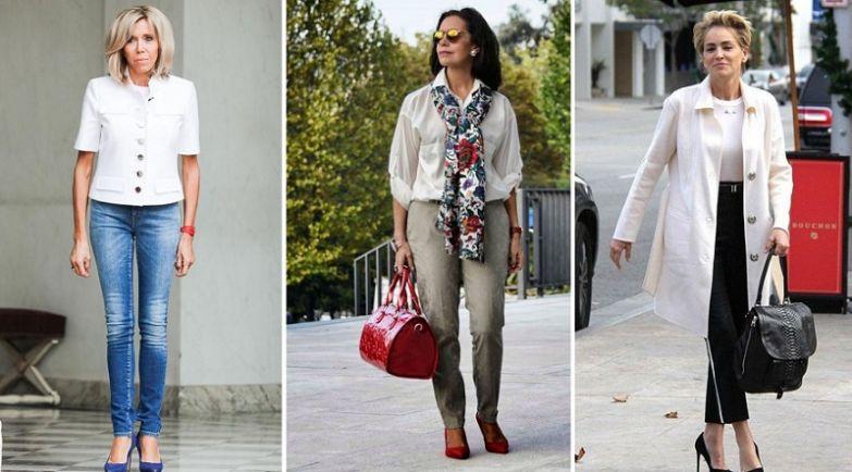 базовая одежда для женщин за 50