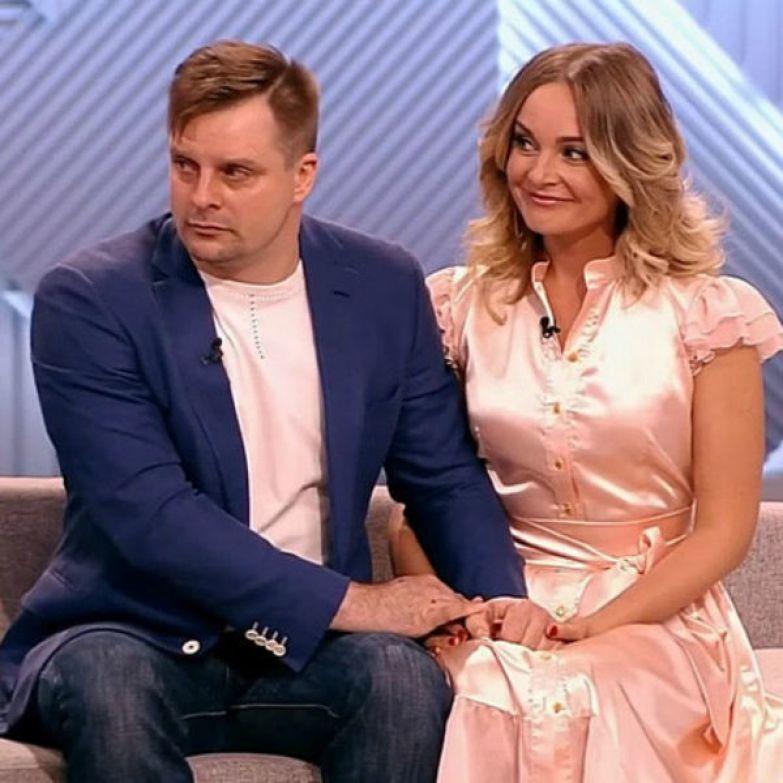 Настя Крайнова и Александр Носик