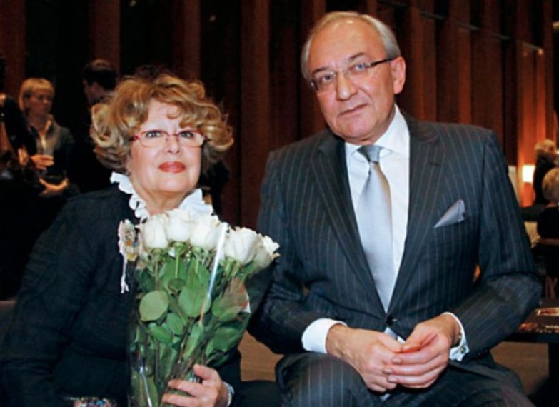 Марина Неелова с мужем Кириллом Геворгяном | Фото: 24smi.org