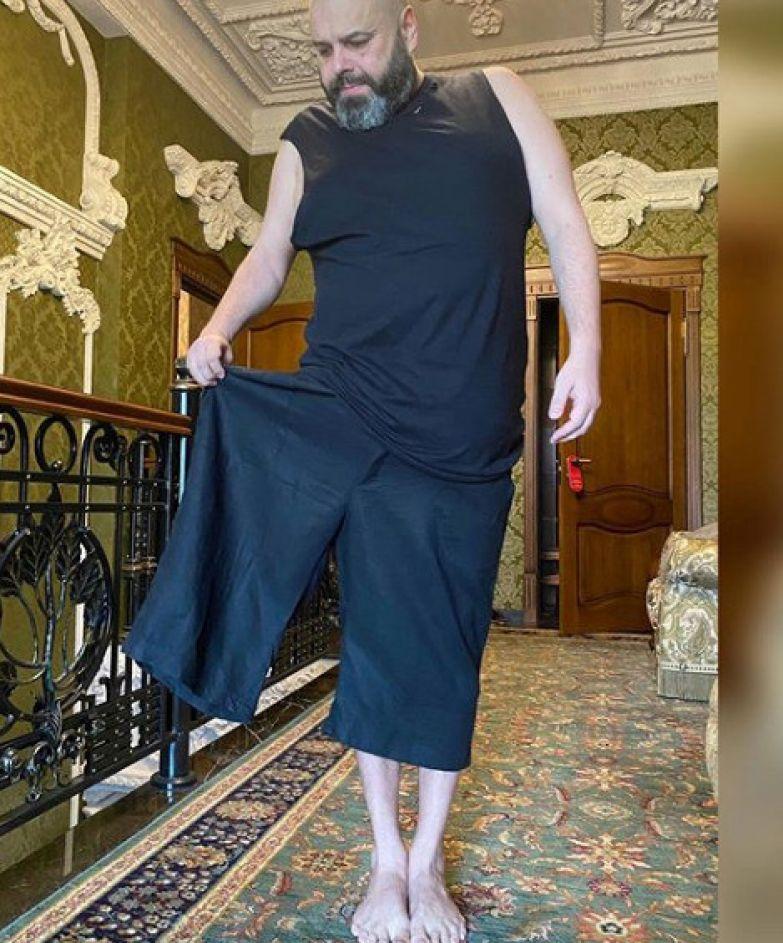 После похудения Фадееву пришлось обновить гардероб