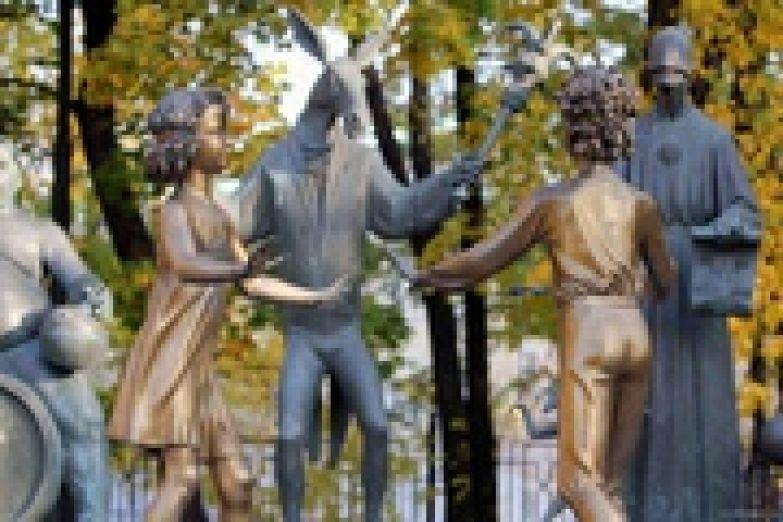 Скульптура «Дети – жертвы пороков взрослых»