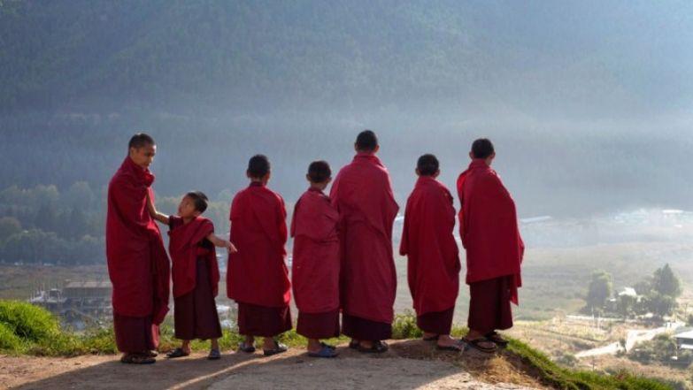 Юный монахи