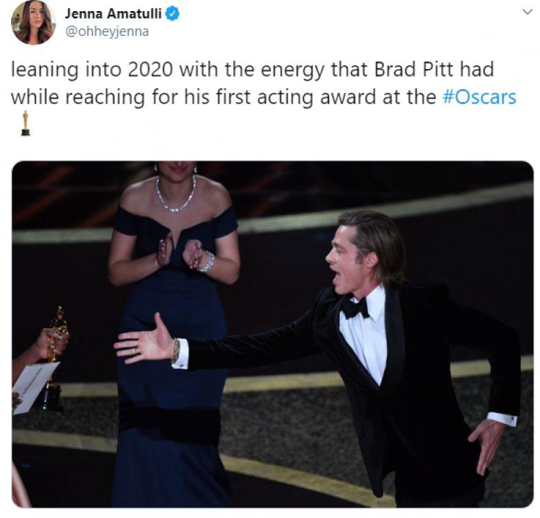 Забавные мемы на 'Оскар 2020', которые сделают твой день - фото 467155