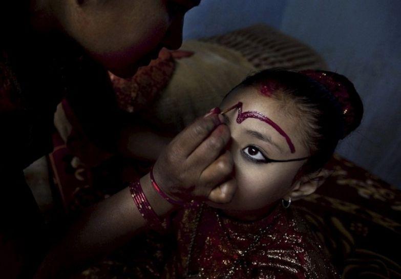Ритуальный макияж