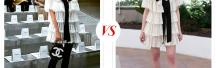 Кто носит платье Chanel лучше: Наталья Давыдова или Эль Фэннинг?