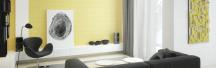 Сонячний лофт з елементами мінімалізму в проекті LINE-STUDIO