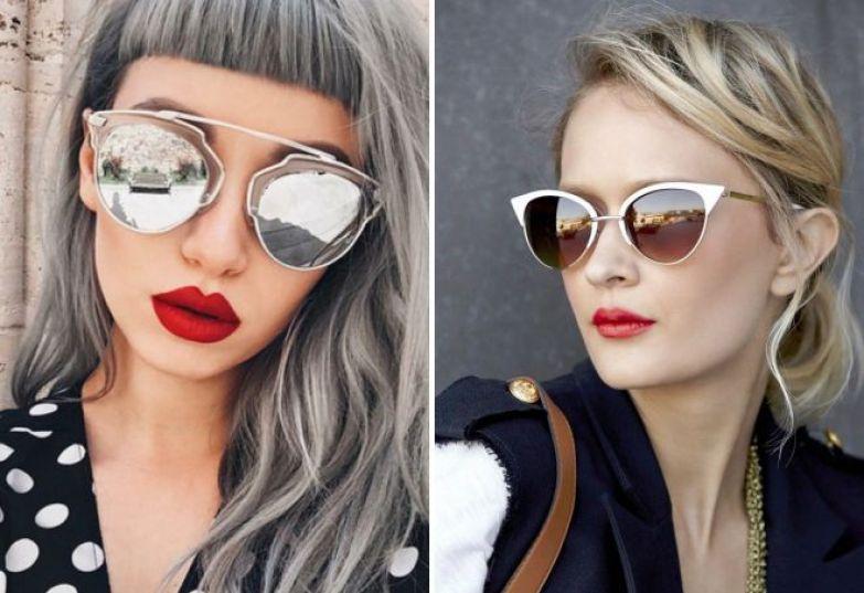 какие женские солнцезащитные очки в моде 2018