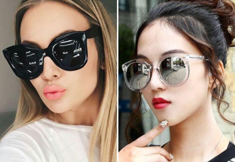 модные солнцезащитные очки 2018 оверсайз