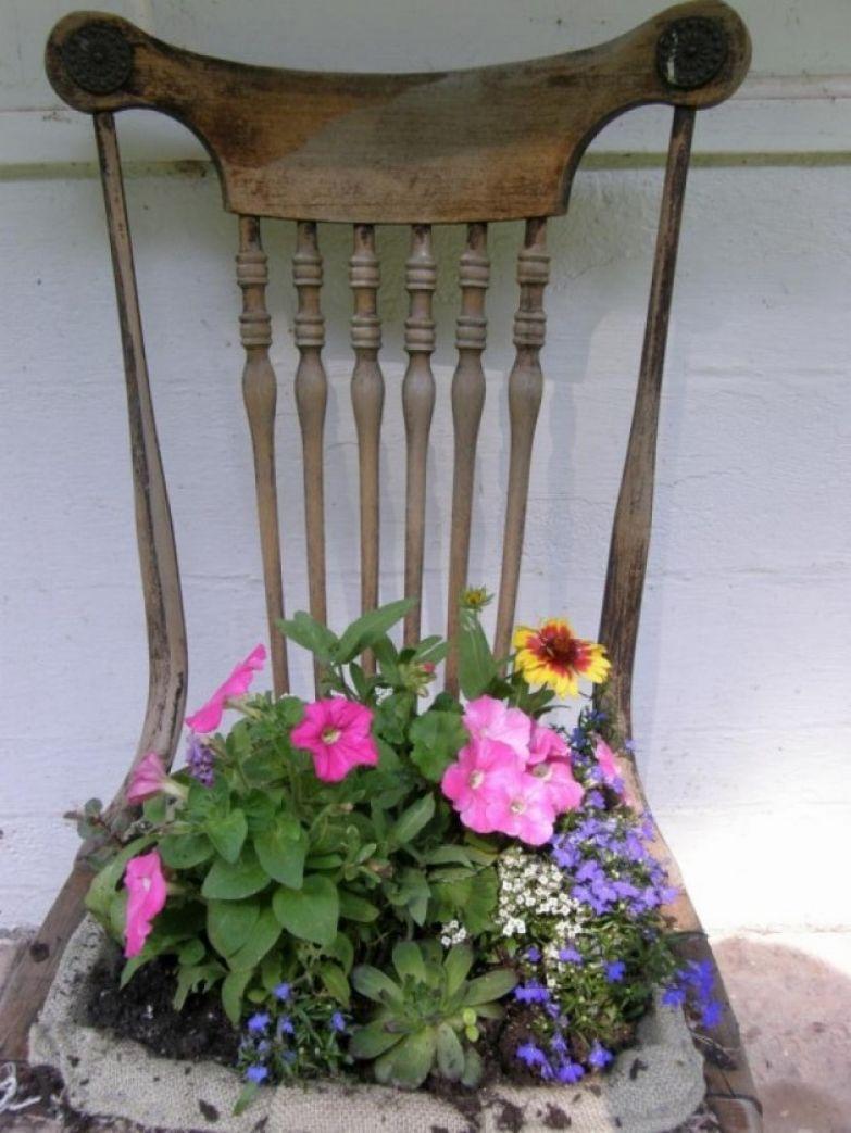 Своими руками для дачи кашпо для цветов