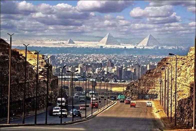 """Результат пошуку зображень за запитом """"piramides desde el cairo"""""""
